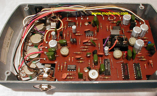 Mode Zero Phase Shifter Phaser Flanger Chorus Delay