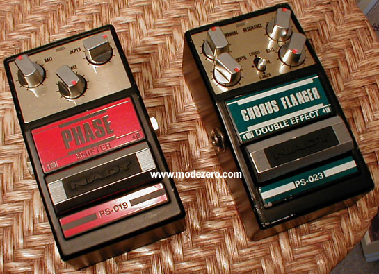 nady phaser and chorus flanger