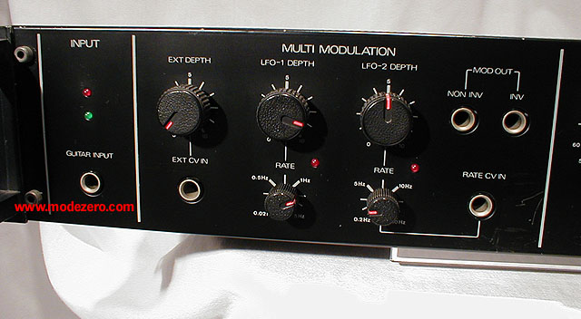 mode zero - phase shifter phaser flanger chorus delay ...